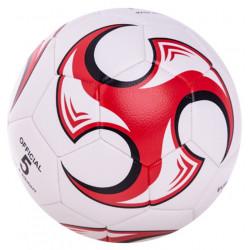 專業耐磨精密縫線【5人制4號足球 】紅白訊豐校園訓練最佳足球