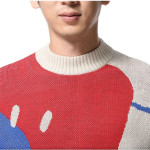 男性秋冬時尚長袖上衣舒適棉質款