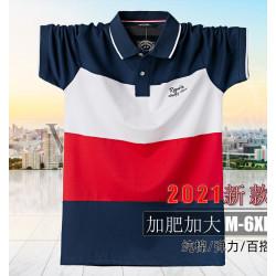 男性春夏時尚短袖設計款品牌上衣舒適棉質款