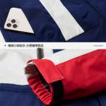 國旗款升級版【時尚衝鋒衣一件3穿,防風防雨.禦寒外套】超值保暖防風防雨.防刮超級推薦保暖時尚-無懼寒流